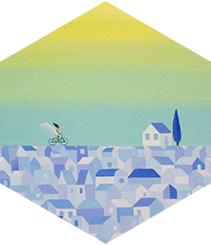 La ilustradora india Shirin Sahba presentará su obra en Galería Cromo