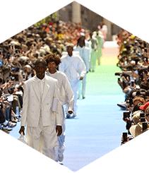 Cosas que pasaron en el debut de Virgil Abloh con Louis Vuitton