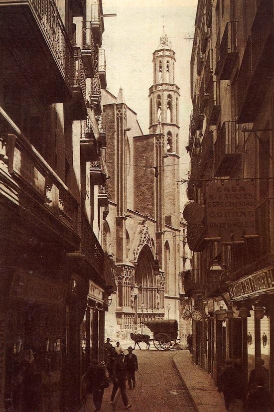 1 Santa María del Mar... antes de La Catedral del Mar