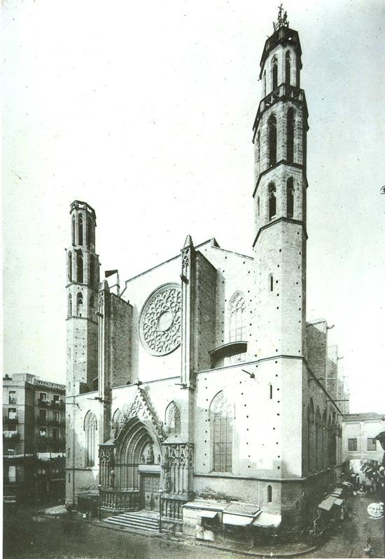7 Santa María del Mar... antes de La Catedral del Mar