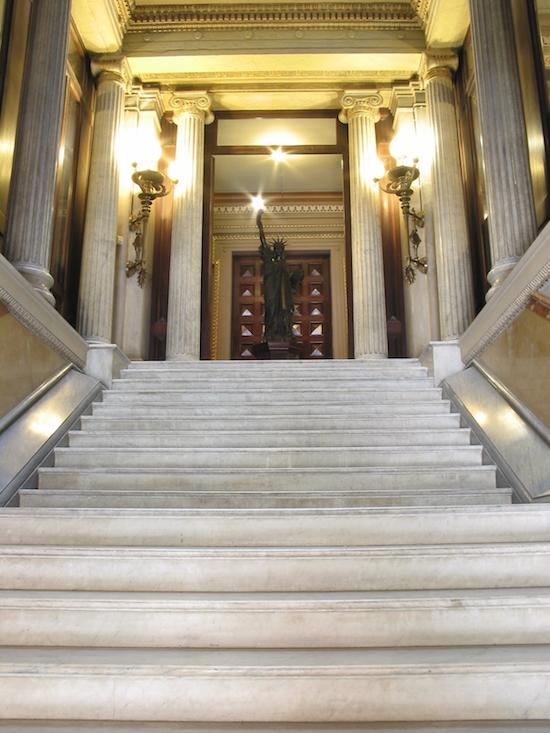 51 Barcelona también tiene una estatua de la libertad