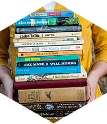 """""""Los libros nos protegen de lo que pasa ahí fuera"""""""