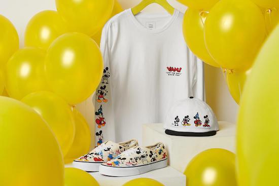 Vans Los 10 mejores ítems que celebran el 90 aniversario de Mickey Mouse