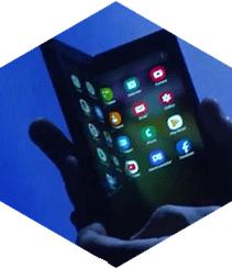 Samsung detalla su primer smartphone plegable, el Infinity Flex Display