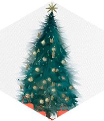 Lujo navideño para una buena causa
