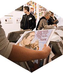 Un Hipermerc'art más internacional que nunca apuesta por el dibujo y la ilustración