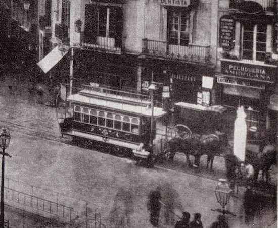 1 Los viejos tranvías de Barcelona
