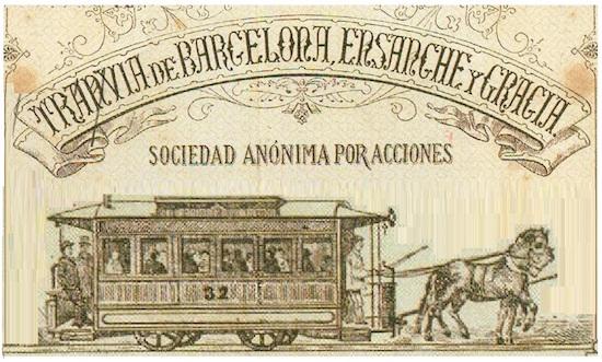 4 Los viejos tranvías de Barcelona