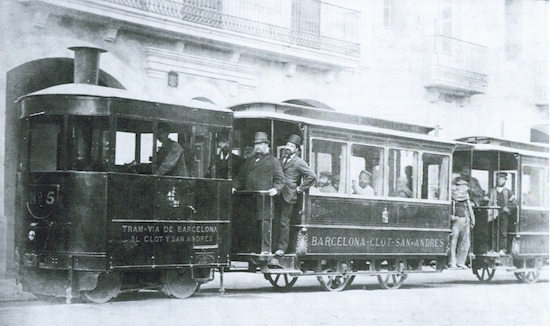 5 Los viejos tranvías de Barcelona