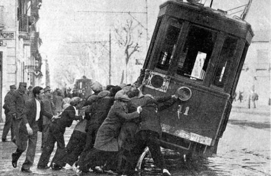 6 Los viejos tranvías de Barcelona