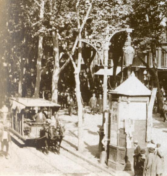 8 Los viejos tranvías de Barcelona