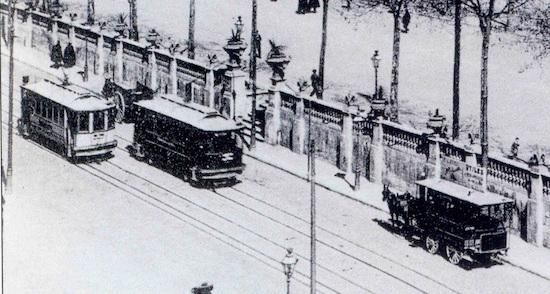 9 Los viejos tranvías de Barcelona