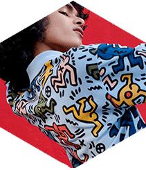 Lacoste celebra el estilo de Keith Haring en una nueva colección
