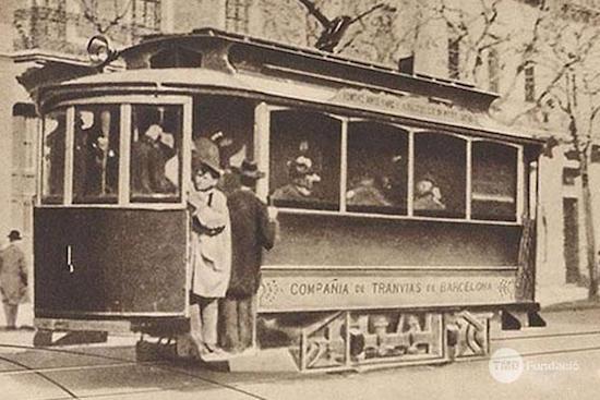 1 Los viejos tranvías de Barcelona, parte 2