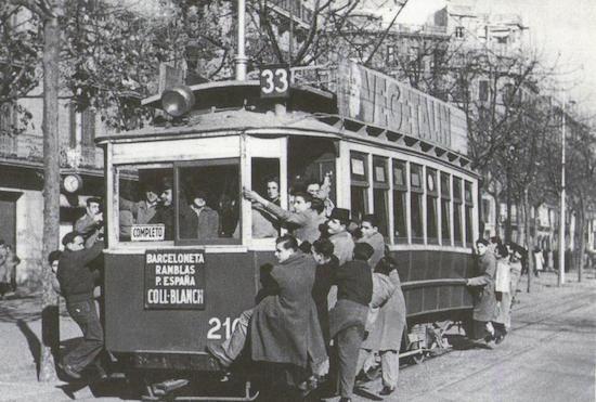 9 Los viejos tranvías de Barcelona, parte 2
