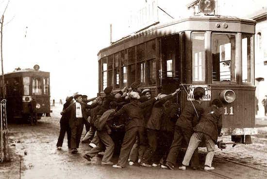 11 La huelga de los tranvías