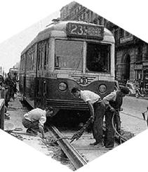 La huelga de los tranvías