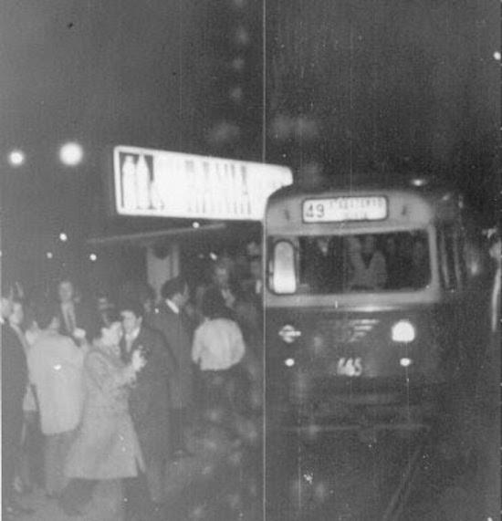 1 Festivo adiós a los últimos tranvías
