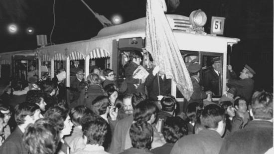 5 Festivo adiós a los últimos tranvías