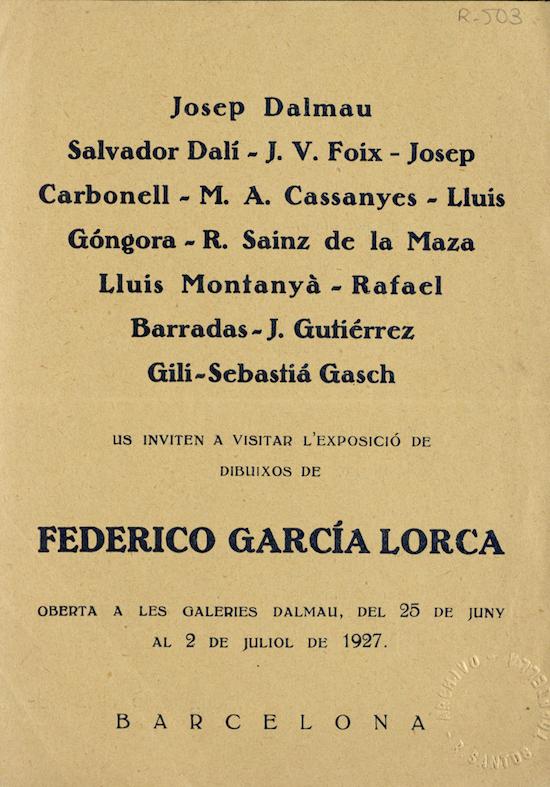 5 Federico García Lorca en Barcelona