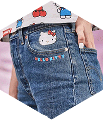 Levi's celebra los 45 años de Hello Kitty con una colección cápsula