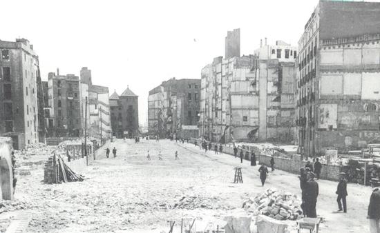 7 Via Laietana, o la Barcelona que crece