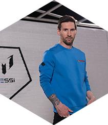 Leo Messi escoge Santa Eulalia para presentar una colección inspirada en su vida