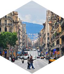 Via Laietana, o la Barcelona que crece