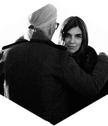 Karl Lagerfeld según Carine Roitfeld