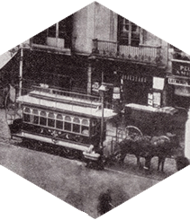 Los viejos tranvías de Barcelona